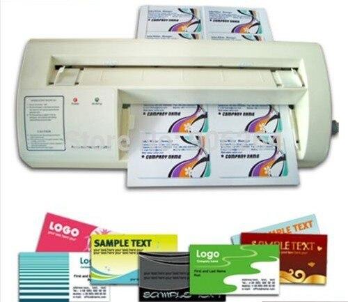 220 V 8954mm Carte De Visite Electrique Maker Decoupeuse Papier Intelligent NOUS Auto
