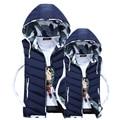 Завод Прямых продаж! новый осень зима мужчины сплошной цвет теплый вниз хлопка жилет мужской верхней одежды пальто куртка жилет vestidos
