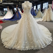 CHANVENUEL ball gown cathedral train wedding dresses