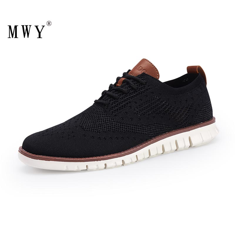 MWY British Style Mens Shoes Casual Breathable Hard Wearing Sneakers Men Zapatillas De Hombre Men Shoes Light Walking Men Flat
