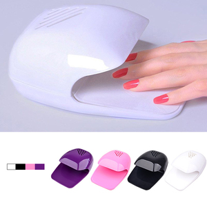 Image 1 - Nail Dryer Fan For Nails Drying Machine for Gel Varnish Home Portable Polish Curing Machines Apparatus Nail Art Fan Dryer