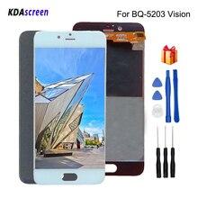 Для BQ BQ-5203 Vision ЖК-дисплей сенсорный экран дигитайзер Запчасти для телефонов для BQS 5203 Vision ЖК-экран Замена Бесплатные инструменты