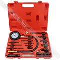 TU-15B Pressure Gauge Diesel Engine Compression Tester Set Kit