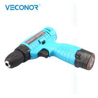 12V Electric Screwdriver Wireless Cordless Li Battery Powered Drill Driver Impact Gun Tool Single Speed For Home Using