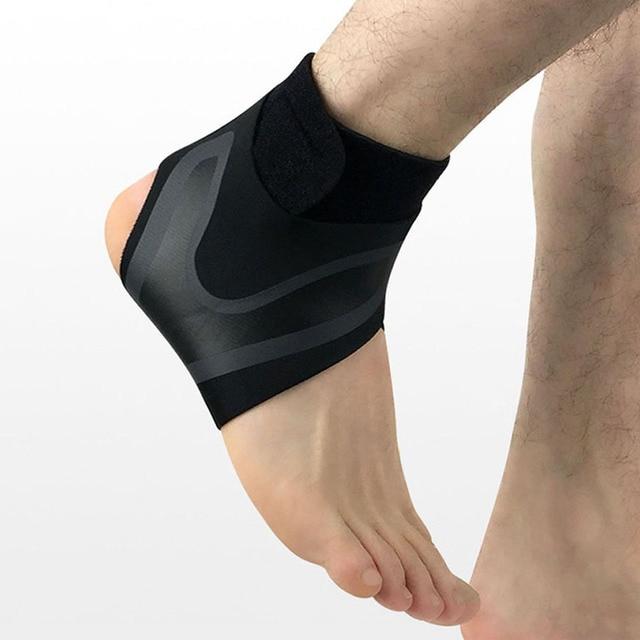 Adjustable Ankle Support Brace Elasticity Protection Pressurize Foot Bandage Sprain Sport Fitness Guard Band Rehabilitation
