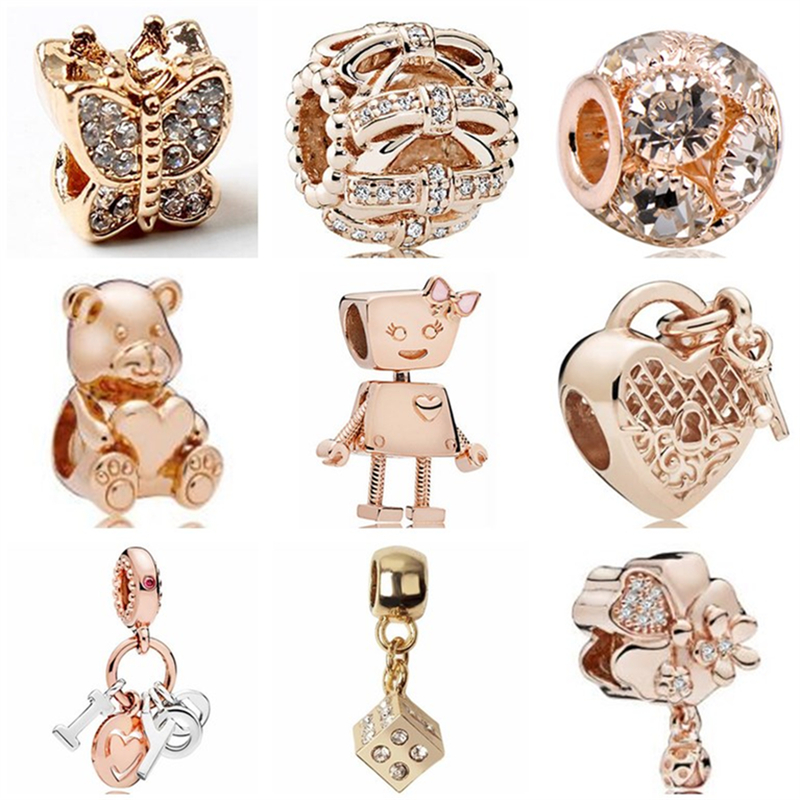 Jewelry & Accessories Beads Vintage Silver Color Monkey Flower Rabbit Love Heart Alloy Charm Beads Fit Pandora Bangles Necklaces Women Diy Jewelry Colares For Sale