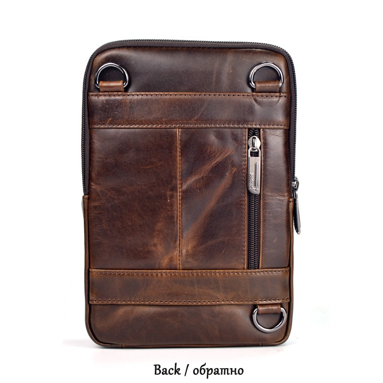 Cheap leather messenger bag
