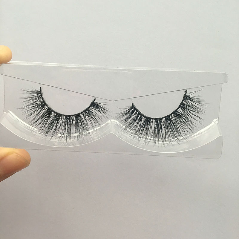 Free shipping in stock 3d mink lashes 100 real siberian mink strip eyelashes privated logo accept