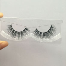 Free shipping in stock 3d mink lashes 100% real siberian mink strip eyelashes privated logo accept