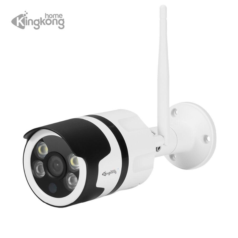 купить Kingkonghome wireless Camera Wifi 1080P outdoor wifi IP Camera Surveillance waterproof Wi-fi Cameras Night Vision CCTV IP Cam по цене 407.31 рублей