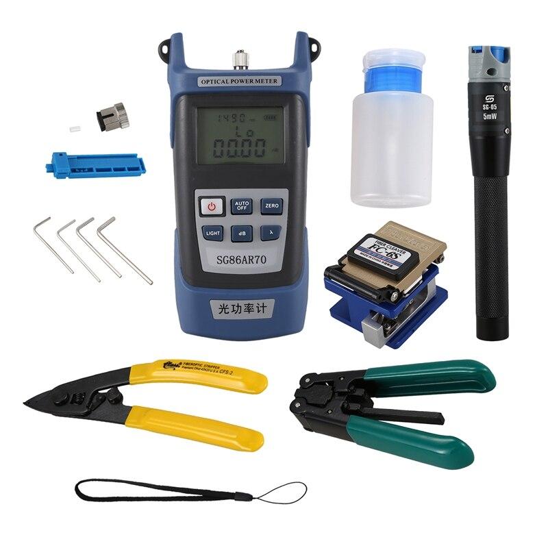 HHO-pour Fc-6S trousse à outils Ftth à fibres optiques Aua-60S à fibres et Meter3-5Km