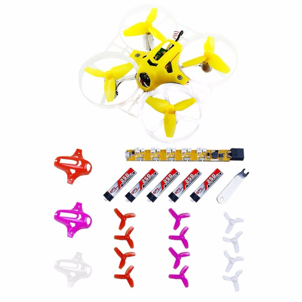 JMT Kingkong Tiny7 PNP Mini Pocket Racing Drone Quadcopter 800TVL Camera with PPM XM FM800 Receiver (Advanced Version)