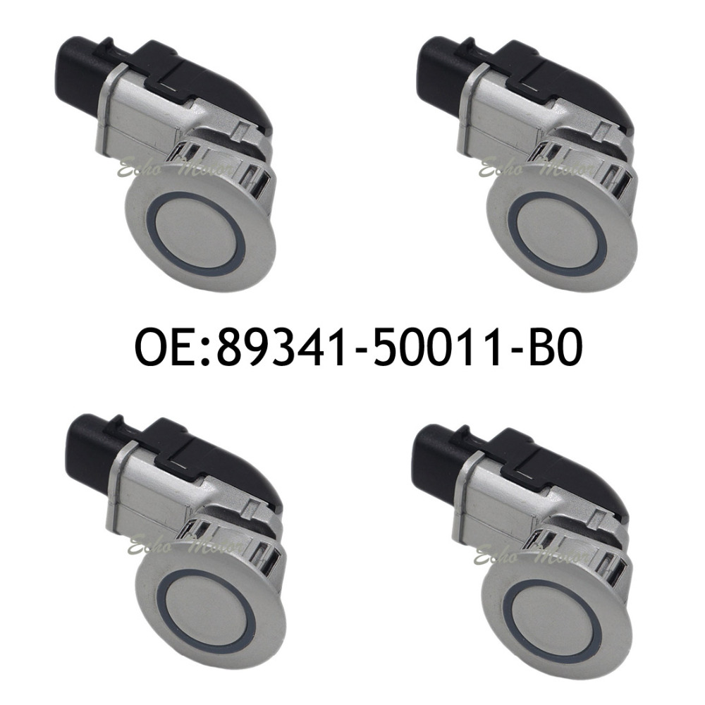 New 4pcs 89341-50011-B0 Parking Ultrasonic Sensor for Toyota Celsior Lexus LS430 2002-2006 89341-50011 4pcs pdc ultrasonic parking disatance control sensor for toyota 89341 53030 8934153030 89341 53030