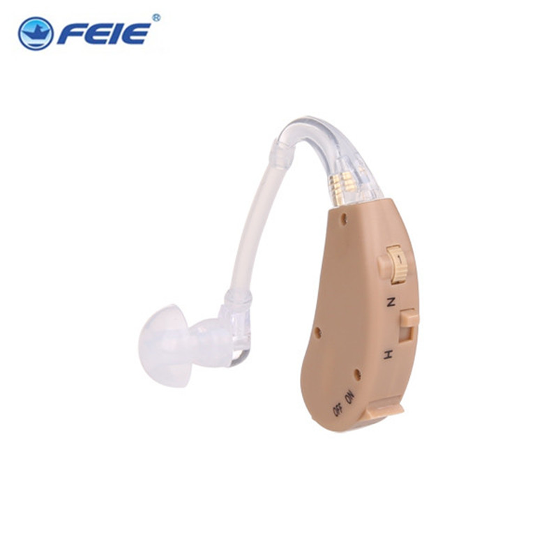 Top Quality Analog BTE ear hearing aid for helping deafness S-268 Free Shipping bte hearing aid volume adjustable tunnel ear plugs mild to moderate hearing loss analog s 998 ear care free shipping to russia