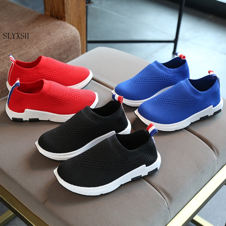 2018 Spring And Summer Children's Single Shoes Boys Mesh Casual Shoes Girls Breathable Shoes In The Big Children's Sports Shoes
