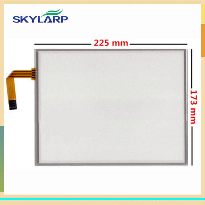 skylarpu 10.4 inch 4 wire Resistive Touch Screen 225mm*173mm for LQ104V1DG52 G104SN03 V.1 V.0 AMT 9509 Digitizer glass panel amt 146 115 4 wire resistive touch screen ito 6 4 touch 4 line board touch glass amt9525 wide temperature touch screen