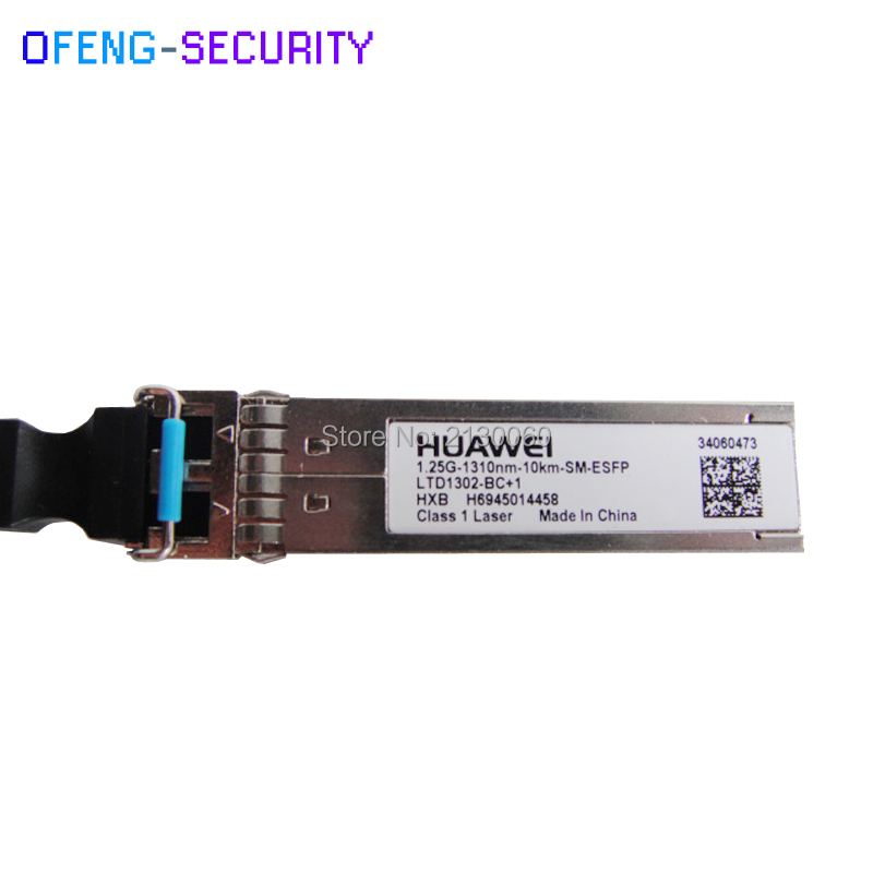 Huawei SFP Module 1.25G 10km 1310nm SM-ESFP 34060473 LTD1302-BC+1 Class 1 Laser