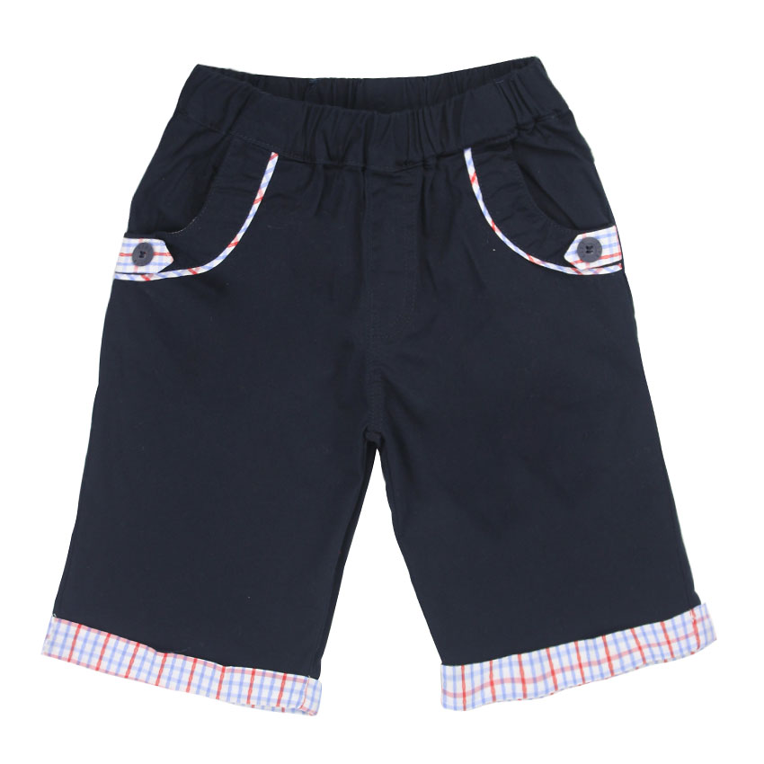 2018 new KIDS Children Boys Fifth Pants Candy Colors Casual Pants Kids Summer Trousers New Fashion Cotton Clothing 4-14T