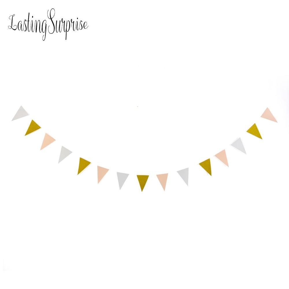 Duradera sorpresa negro blanco bandera de oro pancartas glitter papel - Para fiestas y celebraciones - foto 5