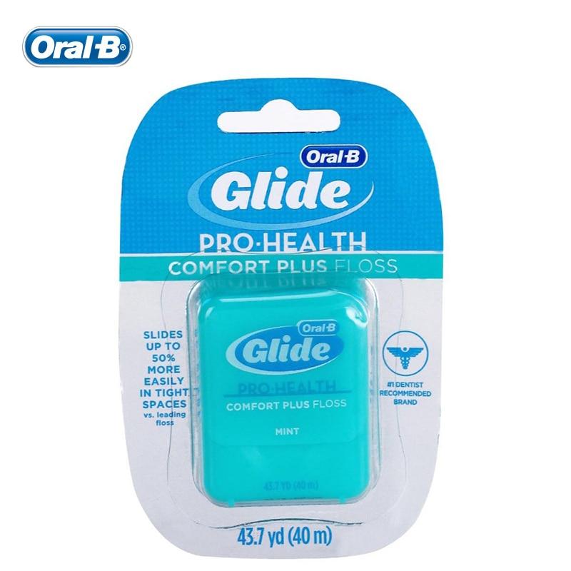 Oral B 40m Gilde Pro-health Oral Hygiene Dental Floss Interdental Brush Teeth Cleaner Tooth Pick Teeth Flosser Teeth Cleaning