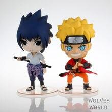 Anime Naruto 20CM Uchiha Sasuke Uzumaki Naruto PVC Action Figure Collection Brinquedos Model Toys