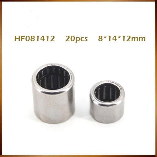 10pcs HK081412 Double Way Needle Bearing 8mm x 14mm x 12mm