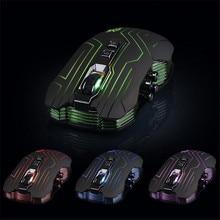 Надежная Оптическая мышь геймер Новый 9D 3200 ТОЧЕК/ДЮЙМ Оптический 2.4 Г Беспроводная Игровая Мышь Для DotA FPS Ноутбука PC Gamer