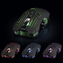 Reliable Optical mouse gamer New 9D 3200DPI Optical 2.4G Wireless Gaming Mouse For DotA FPS Laptop PC Gamer