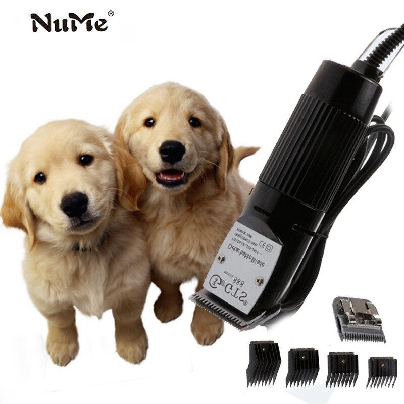 Elétrica pet cão aparadores de cabelo profissional clippers grooming ferramenta recarregável gato barbear cortador de cabelo do cão máquina de corte de cabelo ue