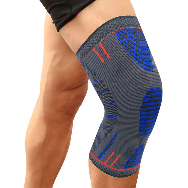 1 Pcs Compression Knee Sleeve Support Kneepad TIMOWIN Brand Running Cycling Knee Pads for Sports And Arthritis Injury Recovery
