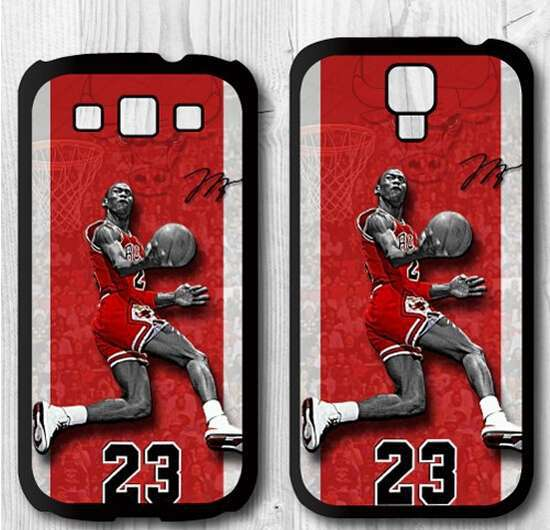 Jordan 23 Bulls Cover Case For Samsung Galaxy S4 S3-in Phone Cases ...