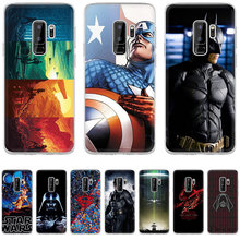 Case Cover For Samsung Galaxy A3 A5 A6 A8 A9 A10 A20 A30 A40 A50 A60 A70 Star War Deadpool Ameircan Superhero Hard Pc(China)