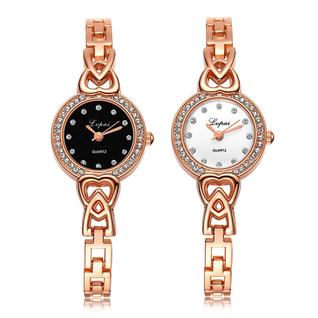 ladies watches 2018 Fashion Women diamond bracelet watches Unisex Stainless Stee