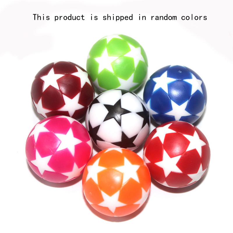 2pc 32mm White Black Plastic Soccer Table Foosball Ball Football Mini Ball Soccer Round Indoor Games Machine Parts image