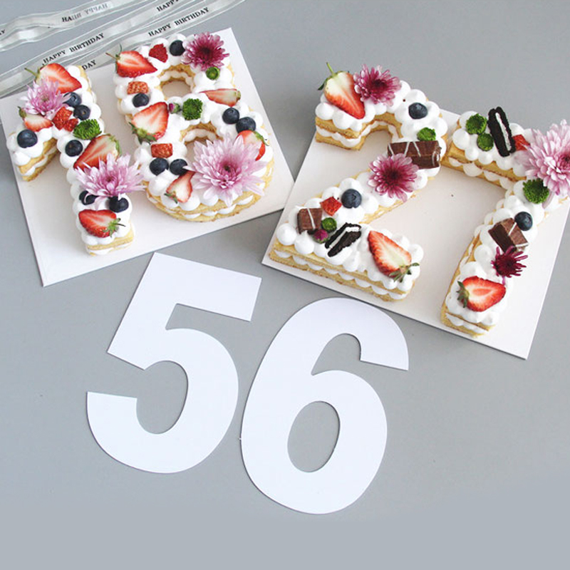 Strange Pet 0 8 Numbers Cake Mold Cake Decorating Tools Birthday Cake Birthday Cards Printable Benkemecafe Filternl