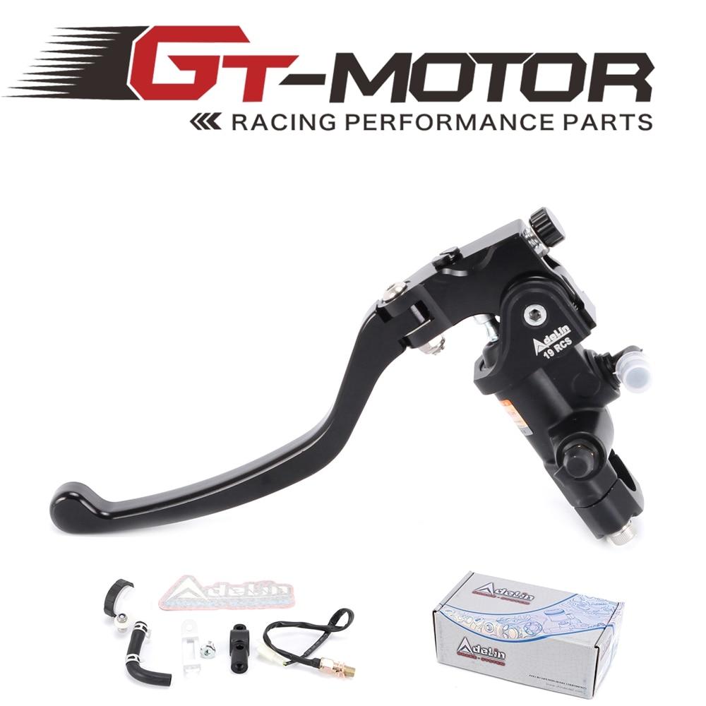 купить GT Motor - Universal Motorcycle 19RCS clutch Adelin Master Cylinder Hydraulic FOR 500cc-1500cc motorcycle по цене 3702.88 рублей