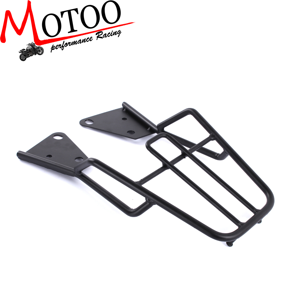 Motoo - Rear Luggage Cargo Rack for Honda Grom MSX125 Heavy Duty Steel Construction partol black car roof rack cross bars roof luggage carrier cargo boxes bike rack 45kg 100lbs for honda pilot 2013 2014 2015