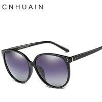 Women S Glasses Polarized Sunglasses Female Famous Brand Designer Large Frame Fashion Vintage Sun Glasses For