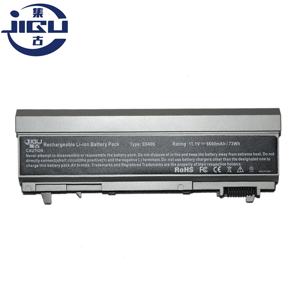JIGU Laptop Battery For Dell For Latitude E6400 M2400 E6510 1M215 312-0215 E6500 M4400 312-0749 M6400 M6500 M4500 E6410 9Cells image