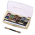 Diamond Bright Earth Color Eyeshadow Charming 12 Colors Makeup Smudging Shimmer  Eyeshadow  Palette Cosmetic Makeup