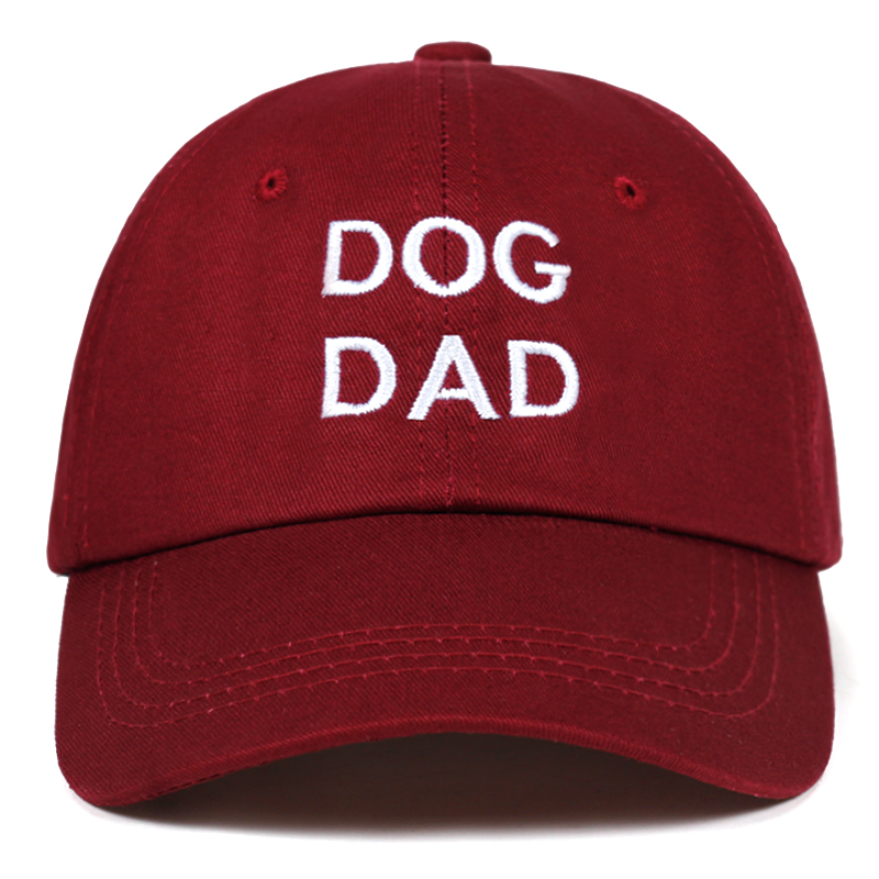 2018 new DOG DAD Letter embroidery   Cap   100%Cotton   Baseball     Cap   For Men Women Hip Hop Dad Hat fashion Snapback hats