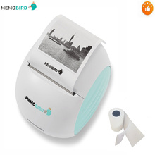 Portable  Printer MEMOBIRD G2 New WIFI Phone Remote Wireless Barcode Photo Thermal 1 roll can be pasted