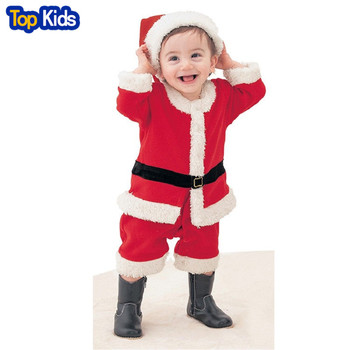 2019 Christmas Baby Rompers Santa Claus Clothing Newborn body suits X'mas babywears Baby Overall Baby Clothes CR047-1 1