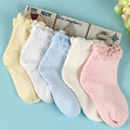 2016 spring and summer children's socks per pack 10 pairs of cotton socks mesh factory direct free shipping
