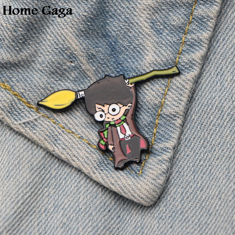 Home & Garden Homegaga Hogwarts Diy Zinc Tie Cartoon Funny Pins Backpack Clothes Brooches For Men Women Hat Decoration Badges Medals D1592 To Be Renowned Both At Home And Abroad For Exquisite Workmanship Skillful Knitting And Elegant Design