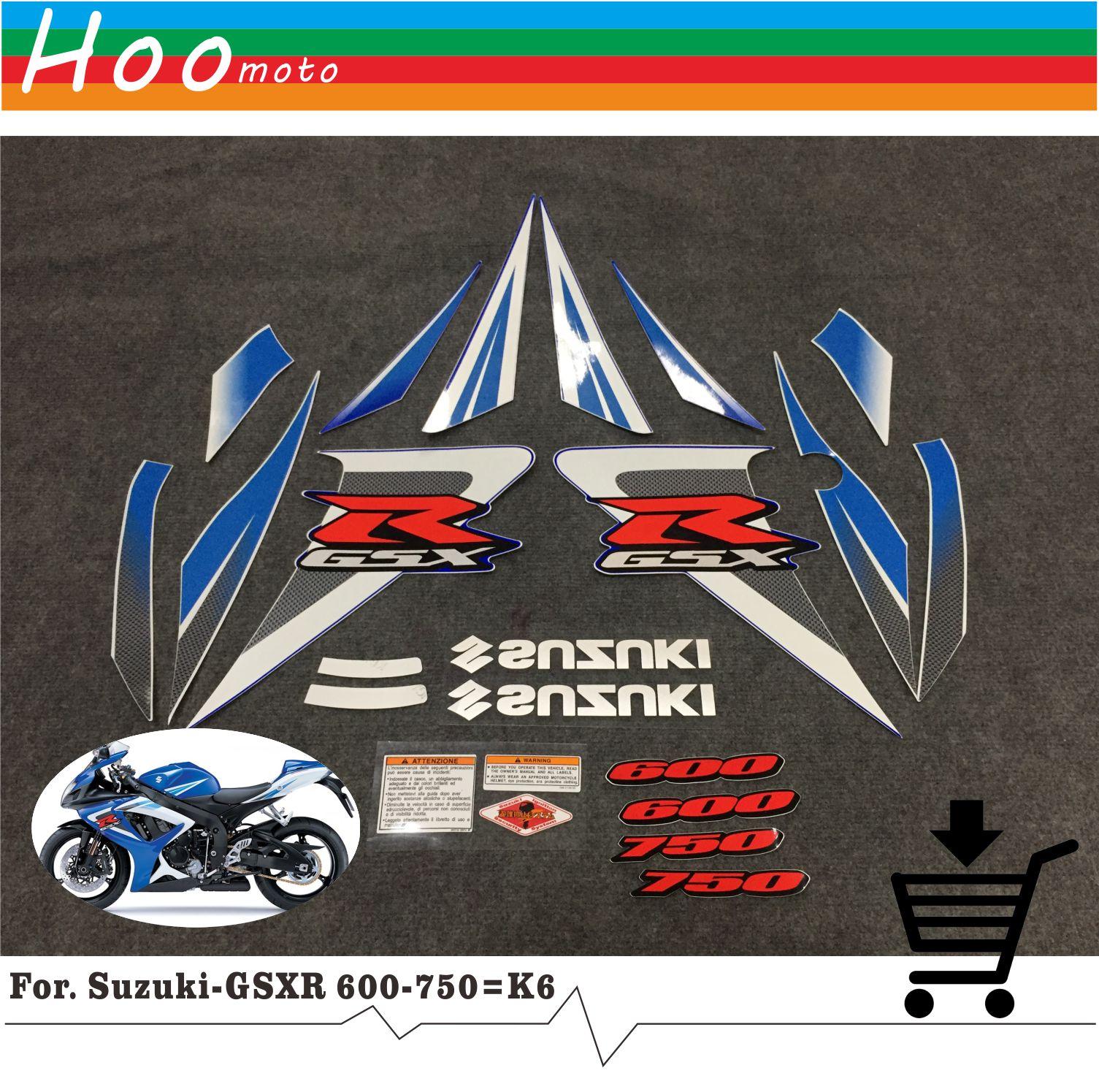 Kit de Pegatinas 3D Protectores Compatible para Moto Gsxr Suzuki Gsx-R 1000 2007-2008