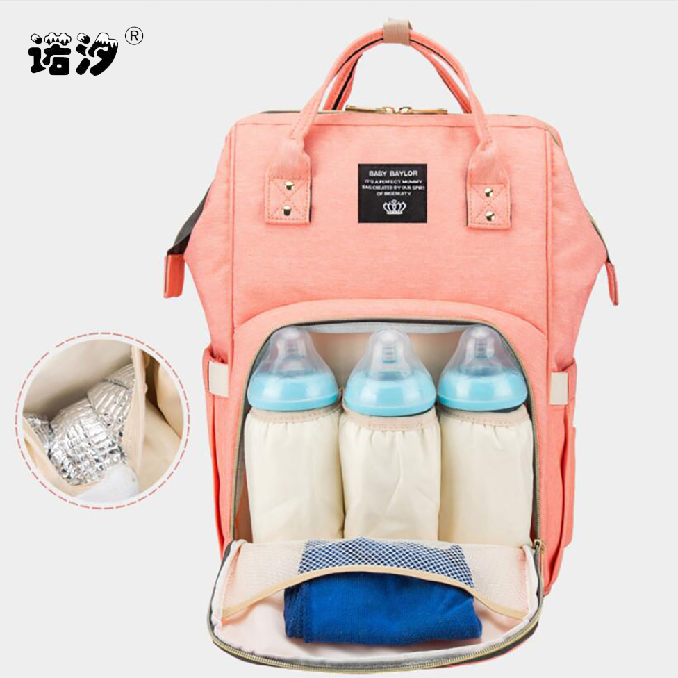 Baby Care MOM Large Capacity Nappy Bag Travel Backpack Nursing Bags For Baby Care Mother Stroller Bags Diaper Bags Baby Travel