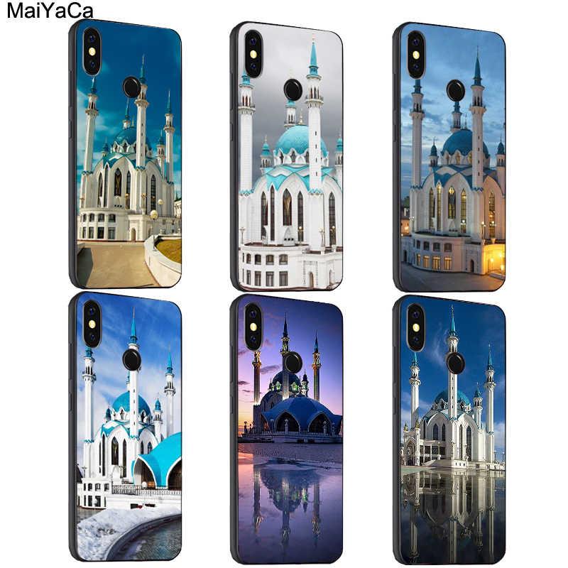 Maiyaca Masjid Kul Sharif Kazan Rusia Case untuk Xiao Mi Merah Mi Note 7 8 Pro 6 5 Plus 7A 6A 5A 4X Mi A2 Lite 9 Se K20 9T PRO