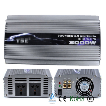 цена на 3000W Modified Sine Wave Car Power Inverter DC 12V/24V to AC 220V-240V 3000Watt Car Auto Battery Charger Power Converter Adapter