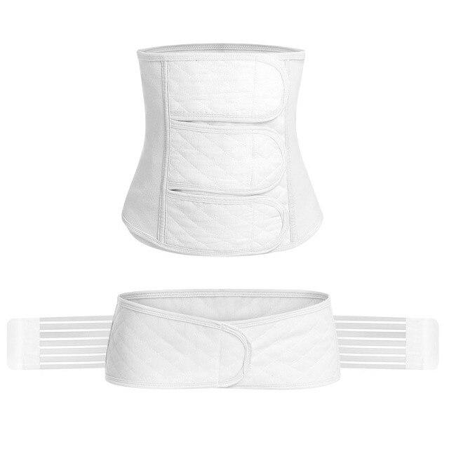Ceinture ventrale post partum soutien taille Post grossesse formateur C Section récupération ceinture/ceinture/bande pour femmes Fajas Postparto